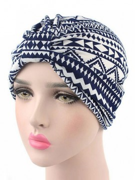 Mode Stretch Baumwolle Damen Turban Acc010