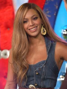 Beyonce Seite Trennung Lang Spitzenfront Wellige 1 Remy Echthaar Echth