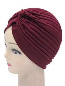 Frauen Indien Caps Retro Stirnband Hijab Muslim Turban All Match Acc014