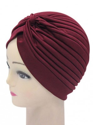 Frauen Indien Caps Retro Stirnband Hijab Muslim Turban All Match Acc014