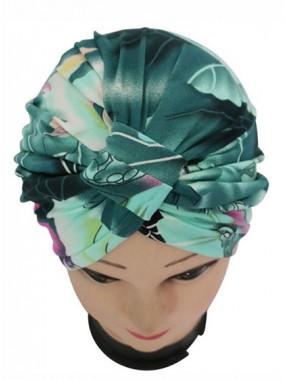 Mode Stretch Baumwolle Damen Turban Acc017