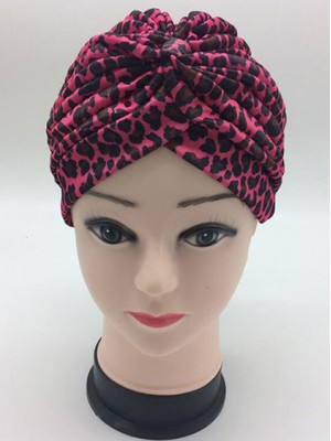Mode Stretch Baumwolle Damen Turban Acc018
