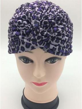 Mode Stretch Baumwolle Damen Turban Acc021
