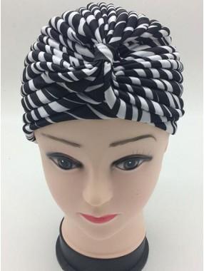Mode Stretch Baumwolle Damen Turban Acc023