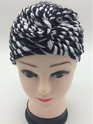 Mode Stretch Baumwolle Damen Turban Acc023