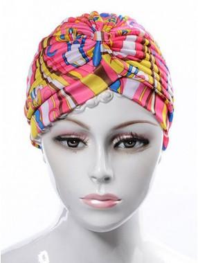 Mode Stretch Baumwolle Damen Turban Acc024
