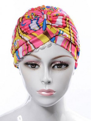 Mode Stretch Baumwolle Damen Turban Acc024