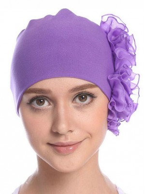 Mode Stretch Baumwolle Damen Turban Acc025