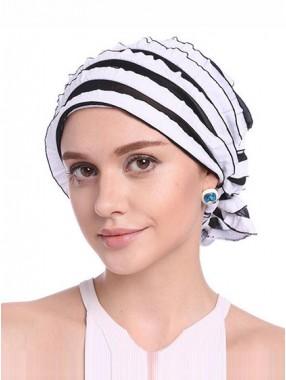 Mode Stretch Baumwolle Damen Turban Acc026