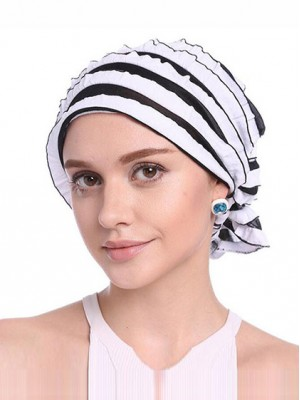 Mode Stretch Baumwolle Damen Turban Acc026