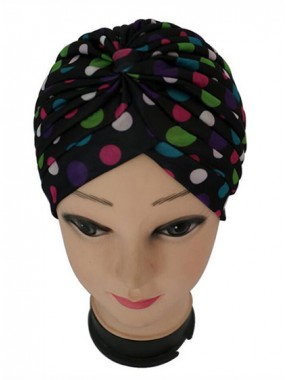 Mode Stretch Baumwolle Damen Turban Acc030