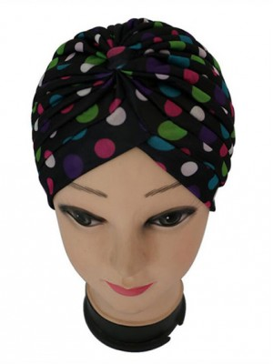 Mode Stretch Baumwolle Damen Turban Acc030