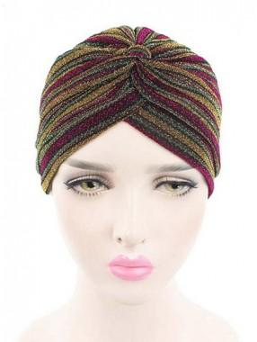 Mode Stretch Baumwolle Damen Turban Acc033