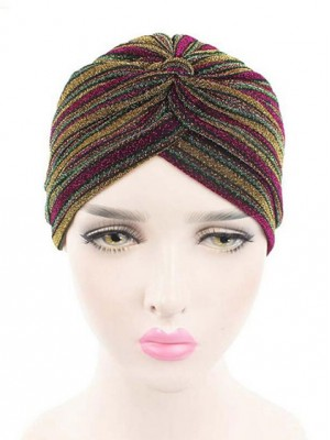 Mode Stretch Baumwolle Damen Turban Acc033