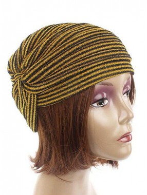 Mode Stretch Baumwolle Damen Turban Acc035