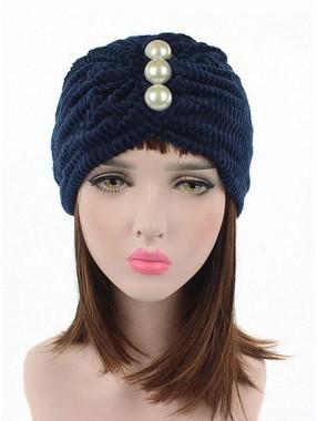 Mode Stretch Baumwolle Damen Turban Acc039