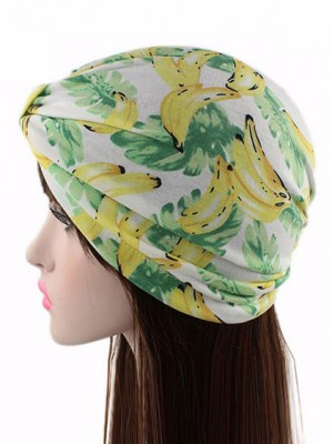 Mode Stretch Baumwolle Damen Turban Acc040