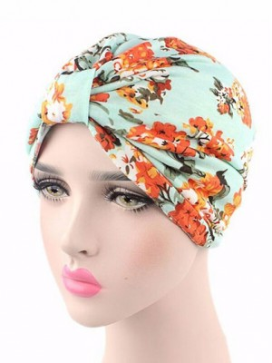 Mode Stretch Baumwolle Damen Turban Acc041
