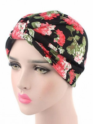 Mode Stretch Baumwolle Damen Turban Acc042