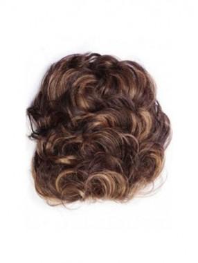 Luxuriöse Pull Thru Echthaar Clip In Haarteile