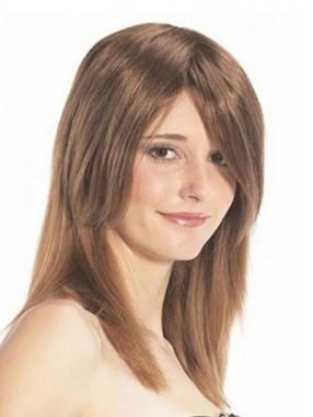 Schnittige Front Line Echthaar Haarteile