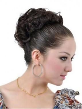 Hübsche Kurz Lockig Haarkranz