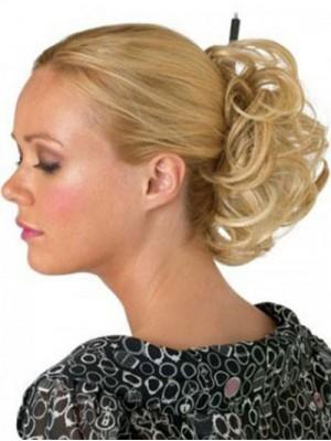 Elegante Haarsträhne Stil Blonde Haarkranz