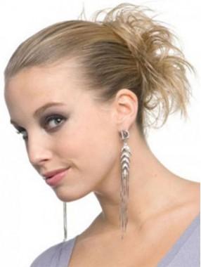 Geschichtet Schnittige Haarsträhne Stil Synthetischekranz