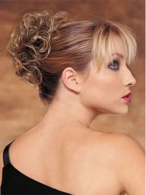 Glänzende Haarteile Remy Echthaar Haarkranz