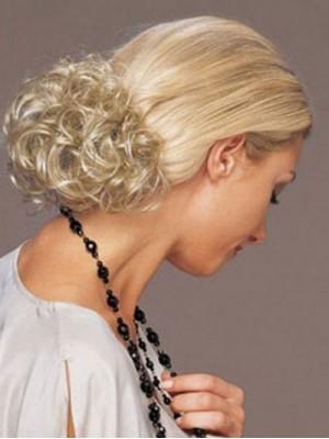 Mode Hochglanzpolierte Clip In Lockig Haarkranz