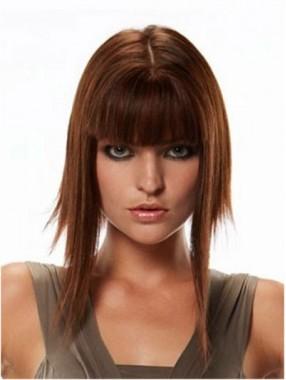 Seidenartige Clip In Franse Gerade Haarverlängerung