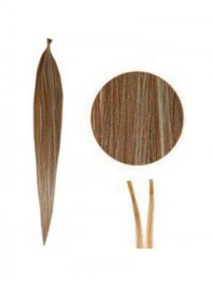 Seidenartig Gerade Attraktive Stock/I Tip Haarverlängerung DATH020