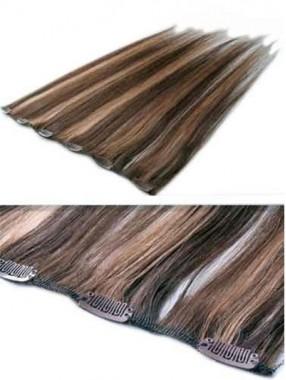 12 Inches Brillant Bereite Remy Haarverlängerung