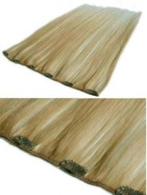 6 Chic Dünne Clips Haarverlängerung
