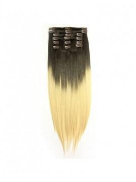 Beste Qualität Einfärben Clip-In Gerade Haar