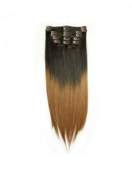Billige Einfärben Clip-In Gerade Haar