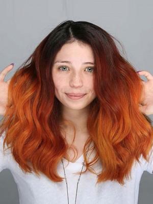 150% Dichte Boday  Ton färbt Menschenhaarperücken