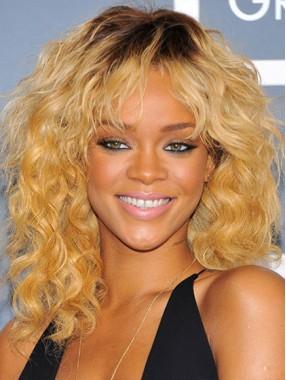 """16"""" Beyonces lockiger Ton färbt Menschenhaarperücken"""