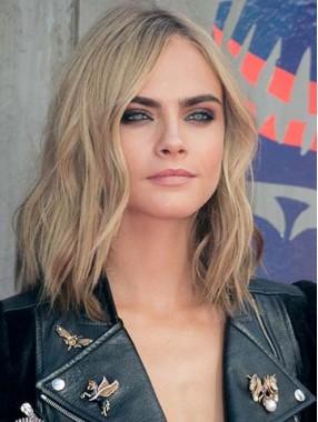 Wellig Haare auf der Schulter Two Tone Farben Ombre Perücken