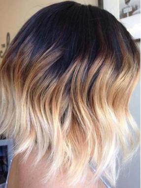 Charming Medium Wellig Spitzenfront Menschliches Haar Perücken