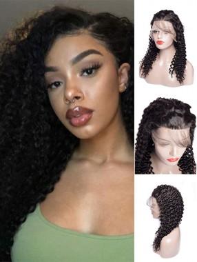 Vorgezupfte Haaransatz 360 Lace Echthaar Perücke