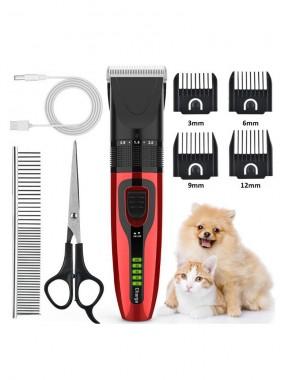 Professionelles schwere Pflicht Hundepflege-Kit, einfügende und ruhige Haarschneidermaschine für Haustier