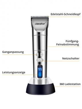 Haarschneidemaschine Profi Haarschneider Herren Haartrimmer Bartschneider Barttrimmer Präzisionstrimmer