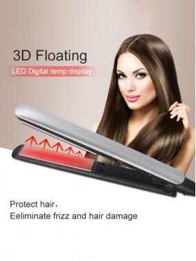 Der neuartige multifunktionale Haarglätter mit negativen Ionen erhöht die Stromerzeugungsschiene zur TemperaturregulierungGlättung und Glättung