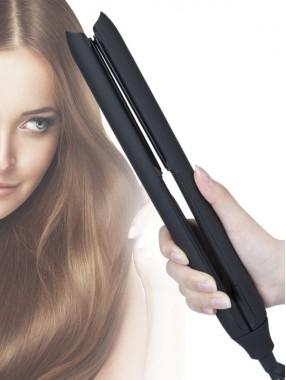 Glatte und geschmeidige gerade Haarspange LED-Anzeige Haushaltsfriseur Werkzeug Haarglätter