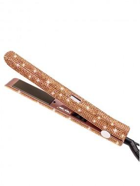 Diamantbesetzter HaarglätterLockenstabelektrische Schieneglatter und lockiger Dual-Purpose-HaarglätterFriseurwerkzeug