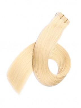 Blond Lange Grade PU Haarsträhnen