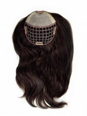 Braun Kurz Gerade Haarteile Toupée