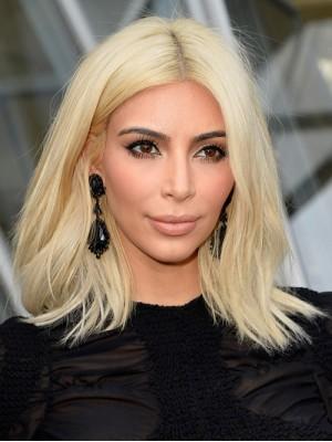 Kim Kardashian Lang Remy Echthaar Perücke