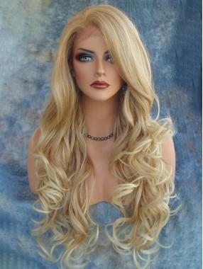 Blond Wellig Perücken
